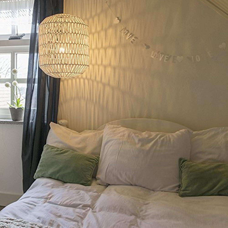 QAZQA Design Modern Esstisch Esszimmer Pendelleuchte Pendellampe Hngelampe Lampe Leuchte Lina Hive 40 wei Innenbeleuchtung Wohnzimmerlampe Schlafzimmer Küche Metall Textil Kuge