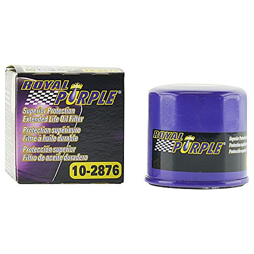 Royal Purple Extended Life Premium Oil Filter 10-2876, Engine Oil Filter for Subaru