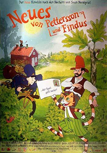 Neues von Pettersson und Findus - Filmposter A1 84x60cm gerollt