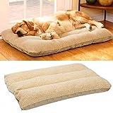 Bingopaw Soft Fleece Dog Bed Pet Cat Dog Mat Pad Cushion Washable and Detachable 120x70cm