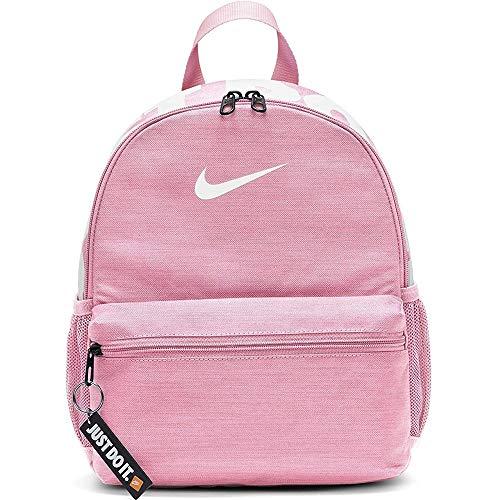 Nike BRSLA JDI Mini Rucksack Unisex, Pink/Pink/White, One Size