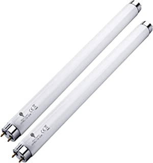 2 Pack Bug Zapper Replacement Lamp Bulb Light Tube 10W for 20W Electronic Bug Zapper T8 Fluorescent Light Tube Replacement...