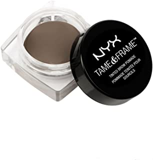 NYX PROFESSIONAL MAKEUP Tame & Frame Brow Pomade, Brunette, 0.18 Ounce