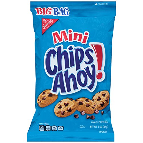 Chips Ahoy! Mini Chocolate Chip Cookies, 3 Ounce