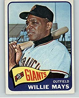 1965 Topps #250 Willie Mays Giants GD-VG Trimmed 362659 Kit Young Cards