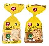 Schar Gluten Free White Bread & Multigrain Bread, 14.4 oz (2 Pack) Schar Gluten Free White Bread & Multigrain Bread, 14.4 oz (2 Pack) Schar Gluten Free White Bread & Multigrain Bread, 14.4 oz (2 Pack)