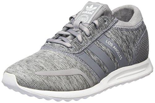 adidas Damen Los Angeles Sneakers, Grau (Light Granite/Grey/Ftwr White), 36 EU