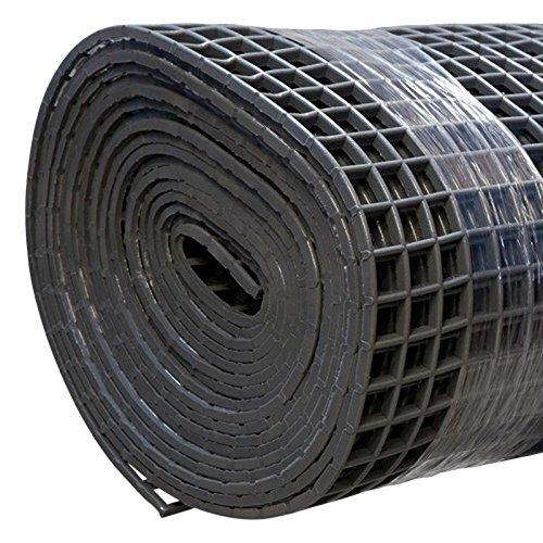 Finnsa Kunststoff Saunaläufer in 100 x 80cm, Grau