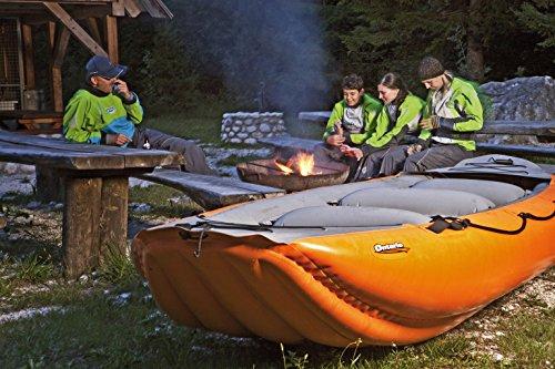 Rafting slangenboten - GUMOTEX - Ontario 450 S - voor 6 personen - binnenband wildwater kajak - kleur oranje