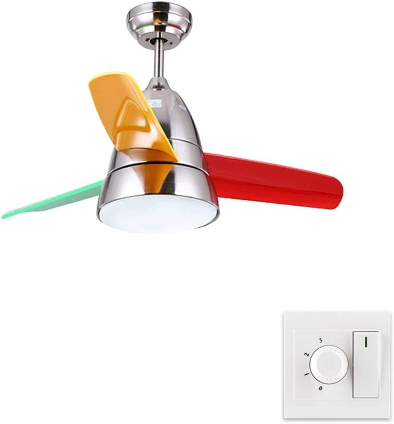 WULOVEMI Ceiling Fan with Long-awaited Light Macaron Cei Children's All items in the store