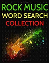 Rock Music Word Search Collection: Rock Bands, Groups and Artists Wordsearch Puzzles