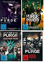 The Purge - Teil 1 + 2 + 3 +4 ( die Säuberung + Anarchy + Election Year + The First Purge) im Set - Deutsche Originalware ...