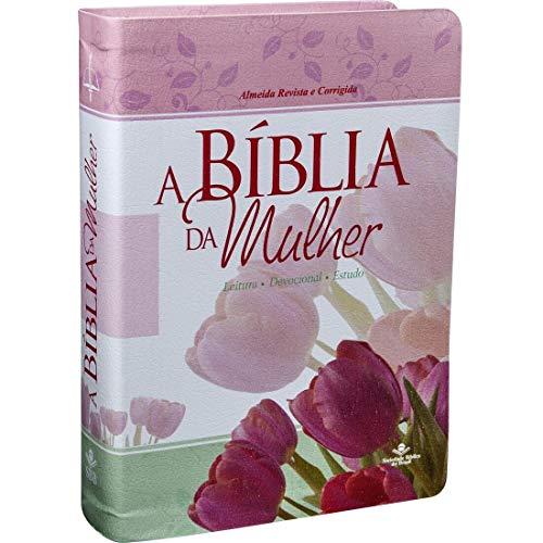 Bíblia de Estudo da Mulher Leitura Devocional - RC Luxo Floral Grande