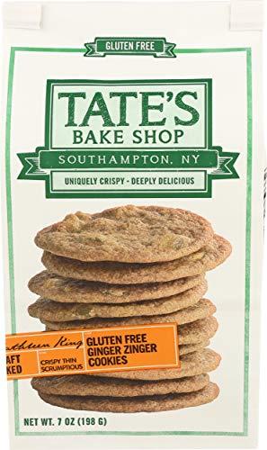 Tates Bake Shop, Ginger Zinger Cookies, 7 Ounce