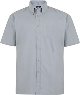 Kam Jeanswear Men's Oxford Classic Short Sleeve Shirt