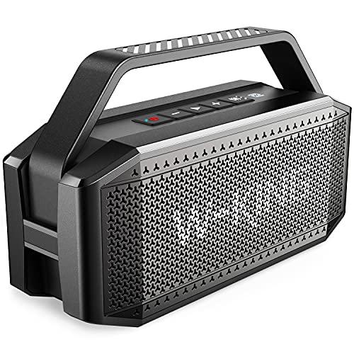 Cassa Bluetooth, W-KING 60W Casse Bluetooth Potente, 40 Ore di Riproduzione, 12000mAh Batteria, impermeabile Speaker Bluetooth Portatile Microfono, Altoparlante Bluetooth con NFC, Carta di TF