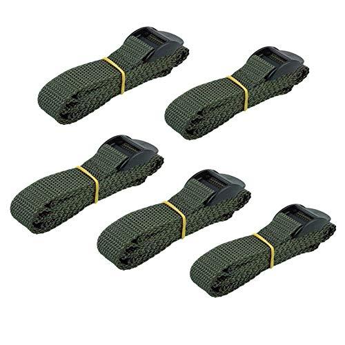 Folgtek 5PCS Game Trail Camera Mounting Straps, 145cm Portable UV Resistant Nylon Fiber Strap, Deer Camera Tree Strap Belts Kit for Hunting Game Cameras Accessory