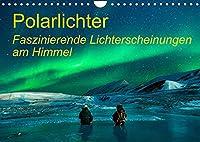 Polarlichter - Faszinierende Lichterscheinungen am Himmel (Wandkalender 2022 DIN A4 quer): Dieser Kalender zeigt das wunderbare Naturschauspiel von Polarlichter! (Geburtstagskalender, 14 Seiten )