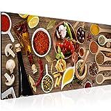 Wandbilder Küche - Gewürze Modern Vlies Leinwand