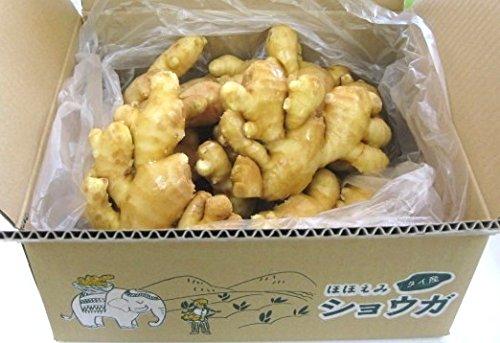 【食用】タイ産ほほえみショウガ 3kg(近江生姜 白) 【富里出荷】