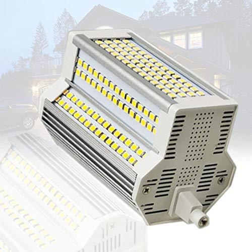 Bombillas LED de 118 mm Regulables 50 W R7S, reemplazo de Bombilla halógena de 500 W, CA 110-240 V, 5400LM, lámpara de ángulo de Haz de 220 Grados