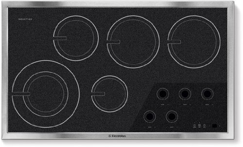 Electrolux: EW36IC60I 36'' Induction Cooktop with 5 Cooking Zones, 7''/11'' Cooking Element, Sealed...