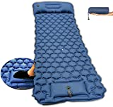 Self Inflating Camping Sleeping Pad with Foot Pump,Waterproof Durable Camping Air Mattress,camping mattress self inflating, inflating mattress camping,self inflating air mattress camping,camping bed