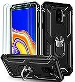 ivoler Funda para Samsung Galaxy J6 2018 con [Cristal Vidrio Templado Protector de Pantalla *3],...