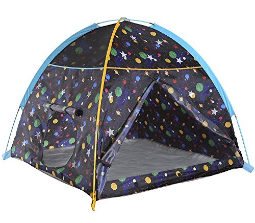 "Pacific Play Tents 41200 Kids Galaxy Dome Tent w/Glow in the Dark Stars - 48"" x 48"" x 42"""