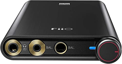 FiiO Q3 Headphone Amplifier DSD512 | 768K/32Bit AK4462DAC with THX AAA amp Technology for MobilePhone &PC with (2.5/3.5/4.4mm) Output
