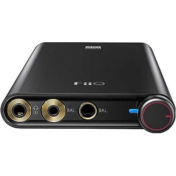 【国内正規品1年保証】FiiO Q3 DSD512 | 768K/32ビット AK4462DAC THX AAAアンプテクノロジー 携帯電話&PC用 (2.5/3.5/4.4mm) 出力付き