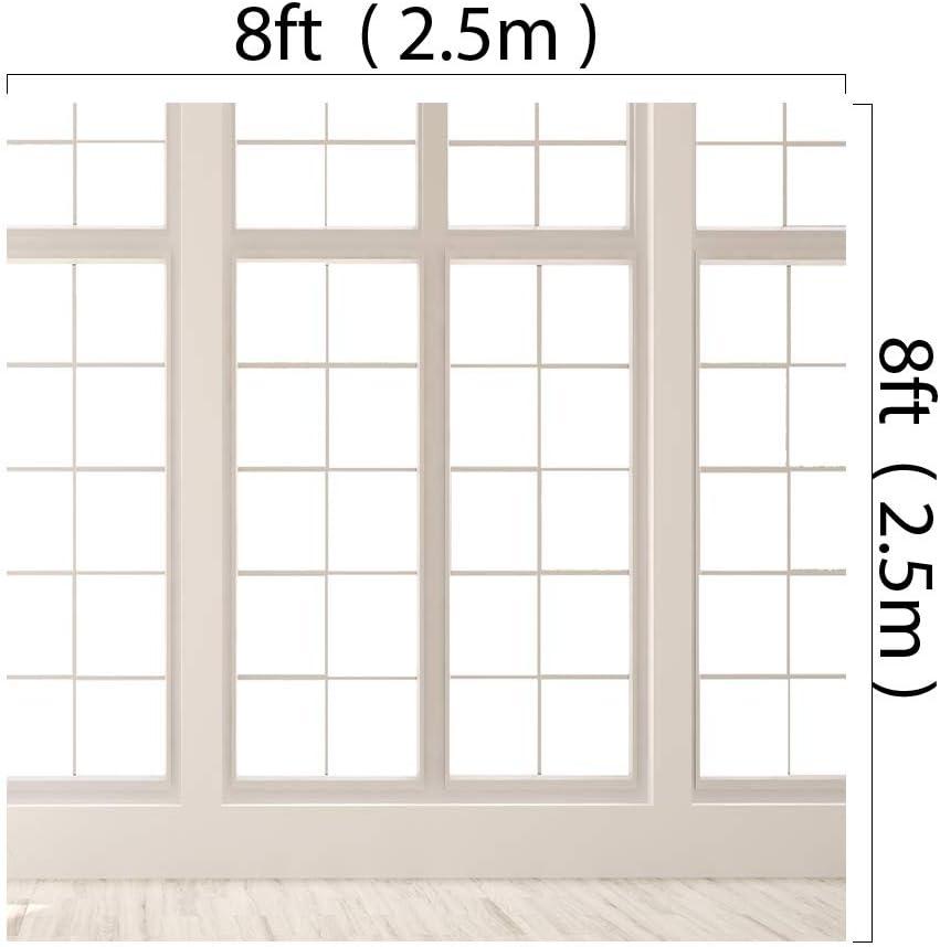 Kate 10x6.5ft White Window Backdrop White Floor Background Wedding Photography Backdrop Window Video Backdrop