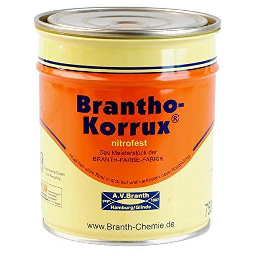 Brantho Korrux nitrofest 0,75 l 7016 Anthrazitgrau