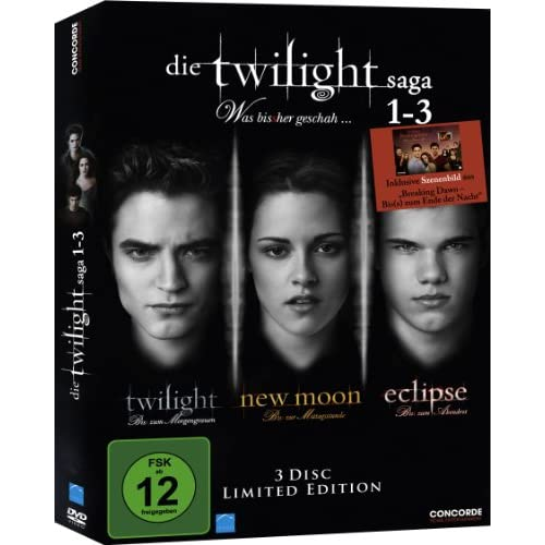 Die Twilight Saga 1-3: Twilight/New Moon/Eclipse