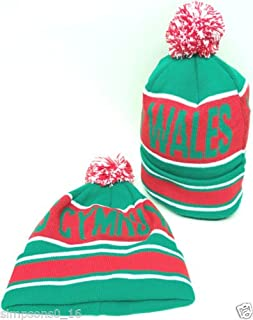 Wales Bobble Hat