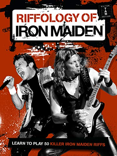 Riffology Of Iron Maiden. Partitions pour Guitare, Tablature Guitare