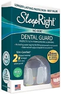 SleepRight Slim Comfort Dental Guard, Mint--1 ea