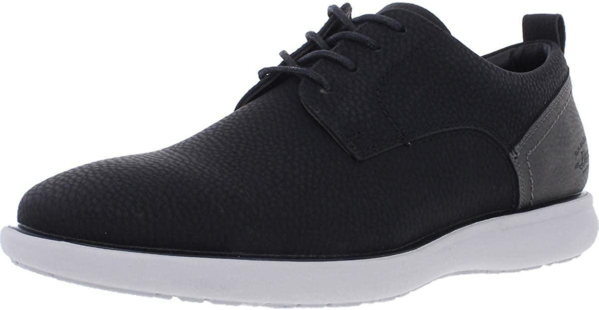 G.H. Bass & Co. Mens Duncan Tumbled WX Casual Oxford Shoe