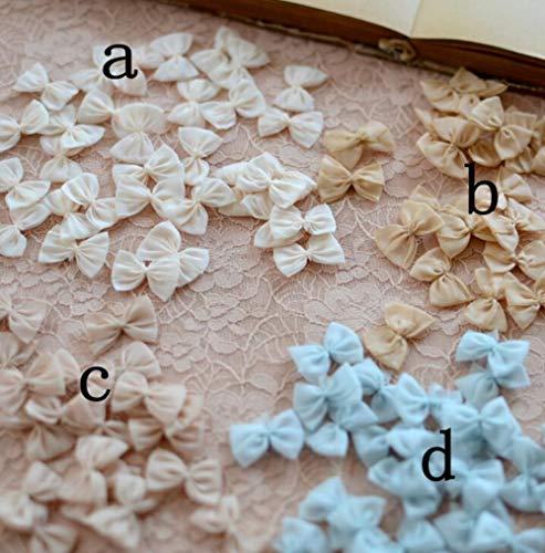 40 stuks kleine baby haar grosgrain strik baby boetiek accessoires kanten strik bloemen versiering, b