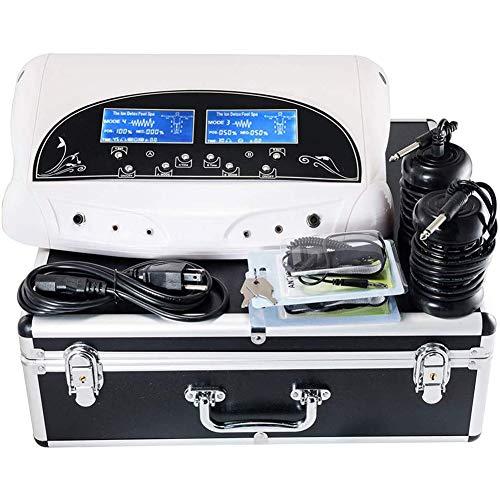 1Set 5 Modi Ion Cleanse Body Detox Maschine Fußbad-Entgiftungsmaschine 2 Ion Array, Dual Benutzer Verbessern Sie Ödeme Körperermüdung