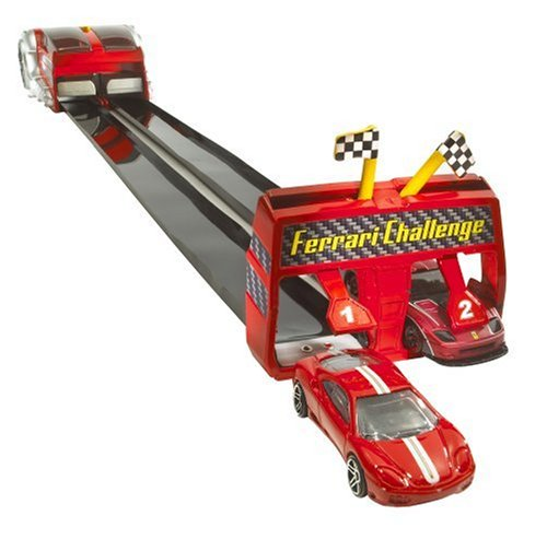 Hot Wheels Mattel - M2743 - Voiture Miniature Roll Up Raceway Ferrari