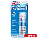 HTH 1274 Multi-Purpose 6-Way Test Strips Swimming Pools Chemical Tester, 30 ct