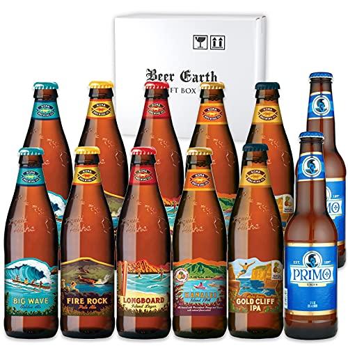 ハワイ ビール 飲み比べ12本セット【コナビール プリモビール】6種類各2本父の日 お歳暮 誕生日などのギフトに