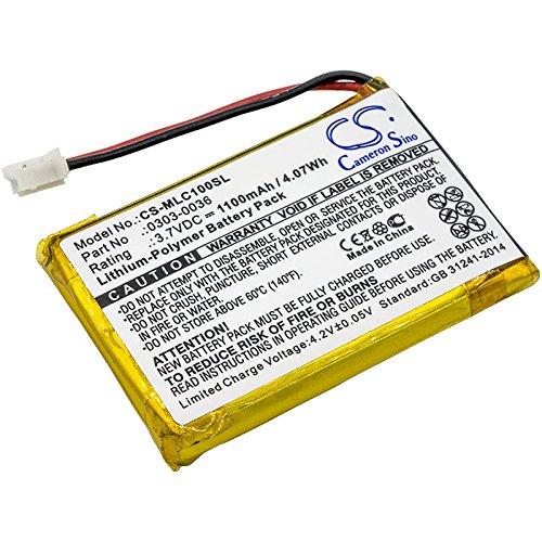 Cameron Sino - Batería de repuesto para Minelab CTX 3030 WM-10 (1100 mAh)