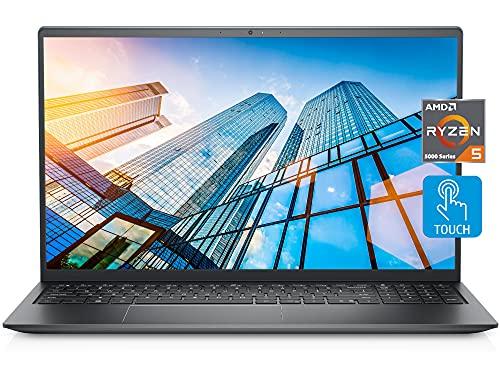 2021 Newest Dell Inspiron 5515 Touch Laptop, 15.6' FHD LED Touchscreen, AMD Ryzen 5 5500U (i7-1065G7), 16GB RAM, 512GB SSD, Webcam, Backlit Keyboard, Fingerprint Reader, WiFi 6, Win 10 Home