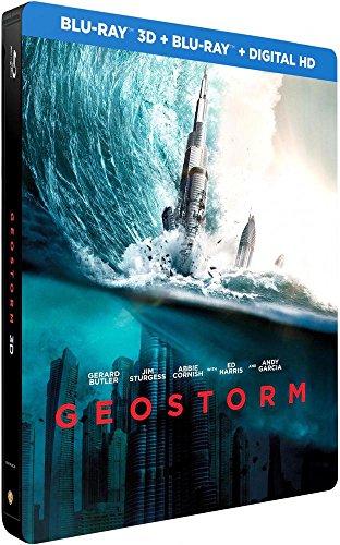 Geostorm - Édition Limitée SteelBook - Blu-ray 3D [Combo Blu-ray 3D + Blu-ray + Copie digitale - Édition boîtier SteelBook]