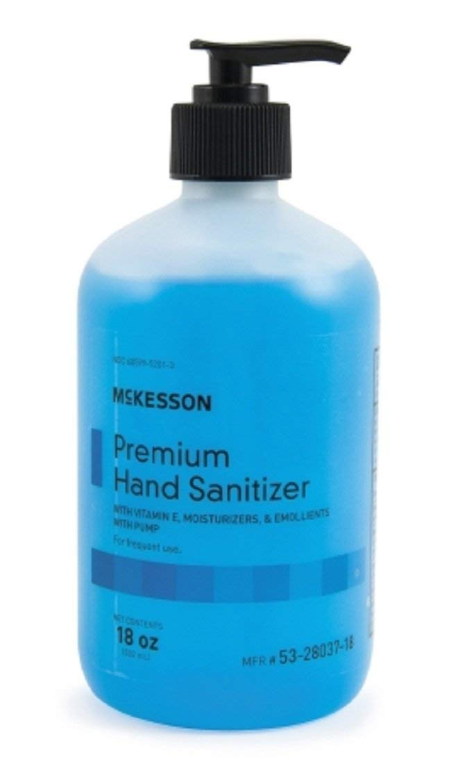 Mckesson Hand Sanitizer -18oz. Max 85% OFF of Max 77% OFF Pack 3