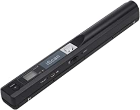 Portable Scanner iSCAN 900 DPI A4 Document Scanner Handheld for Business, Photo, Picture, Receipts, Books, JPG/PDF Format Selection, Micro SD Card Hand Scanner