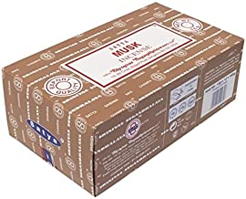 Incense Nag Champa Musk–15Grs–Satya–Lot de 12