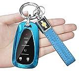 AHQ for Chevrolet Key Fob Cover Key Chain,...